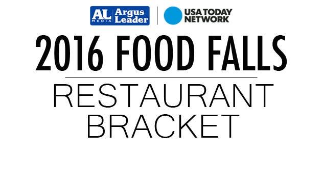 2016 Food Falls Restaurant Bracket.