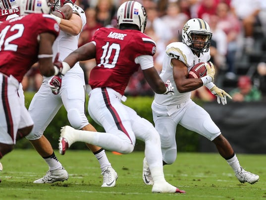 NCAA Football: Central Florida at South Carolina
