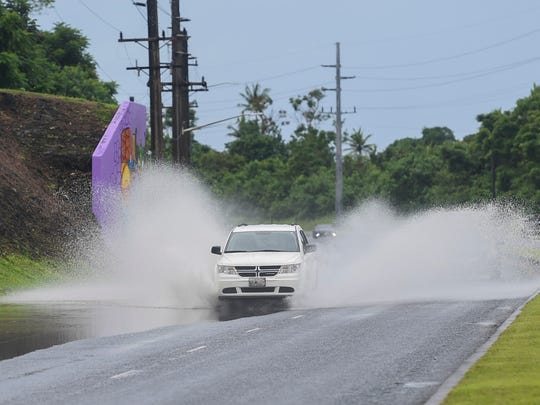 Flooding is possible in low-lying and poor drainage areas next week due to heavy rainfall, the Weather Service warned.