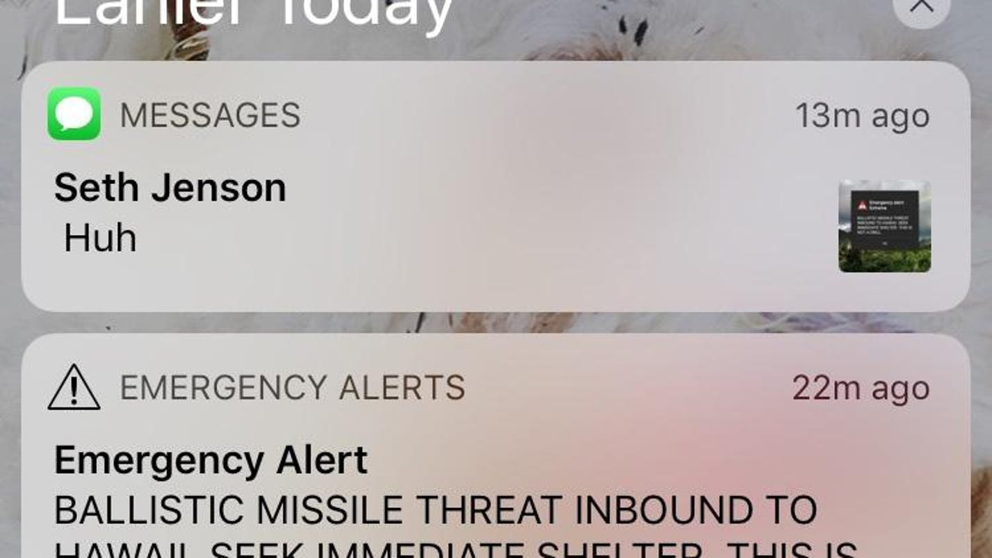Missile-alert mistake feeds doubts about real emergency