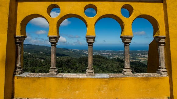 The view from Pena Palace