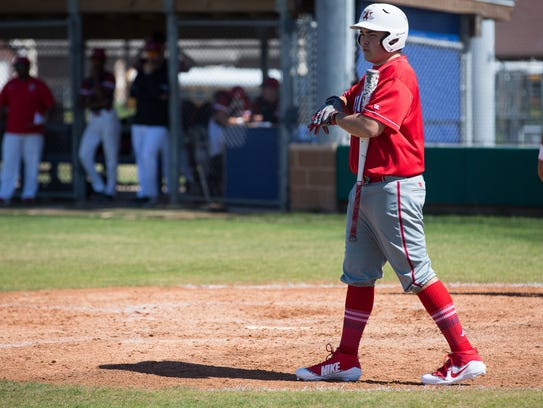 Incarnate Word Academy's Robert Walsh steps up to bat
