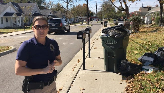 Gallatin Police Department's Jessica Jackson is the City's property maintenance inspector.