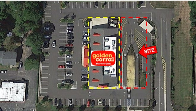 Checkers Drive-In is building a new restaurant in Vineland in the parking lot next to the now closed Golden Corral