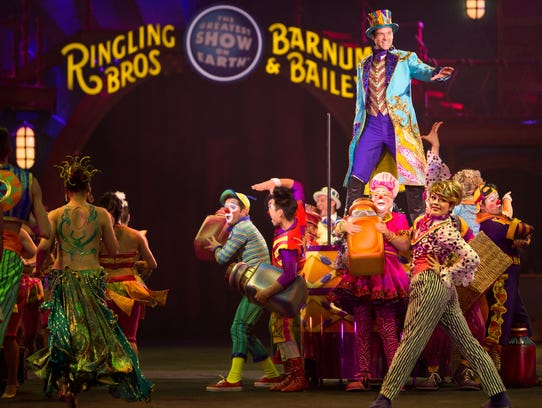 """Circus Xtreme""  from  the Ringling Bros. and Barnum"