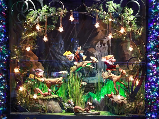 "Saks Fifth Avenue and Disney unveil ""Once Upon a Holiday"","