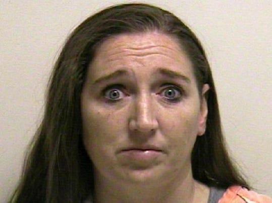 Megan Huntsman police mugshot