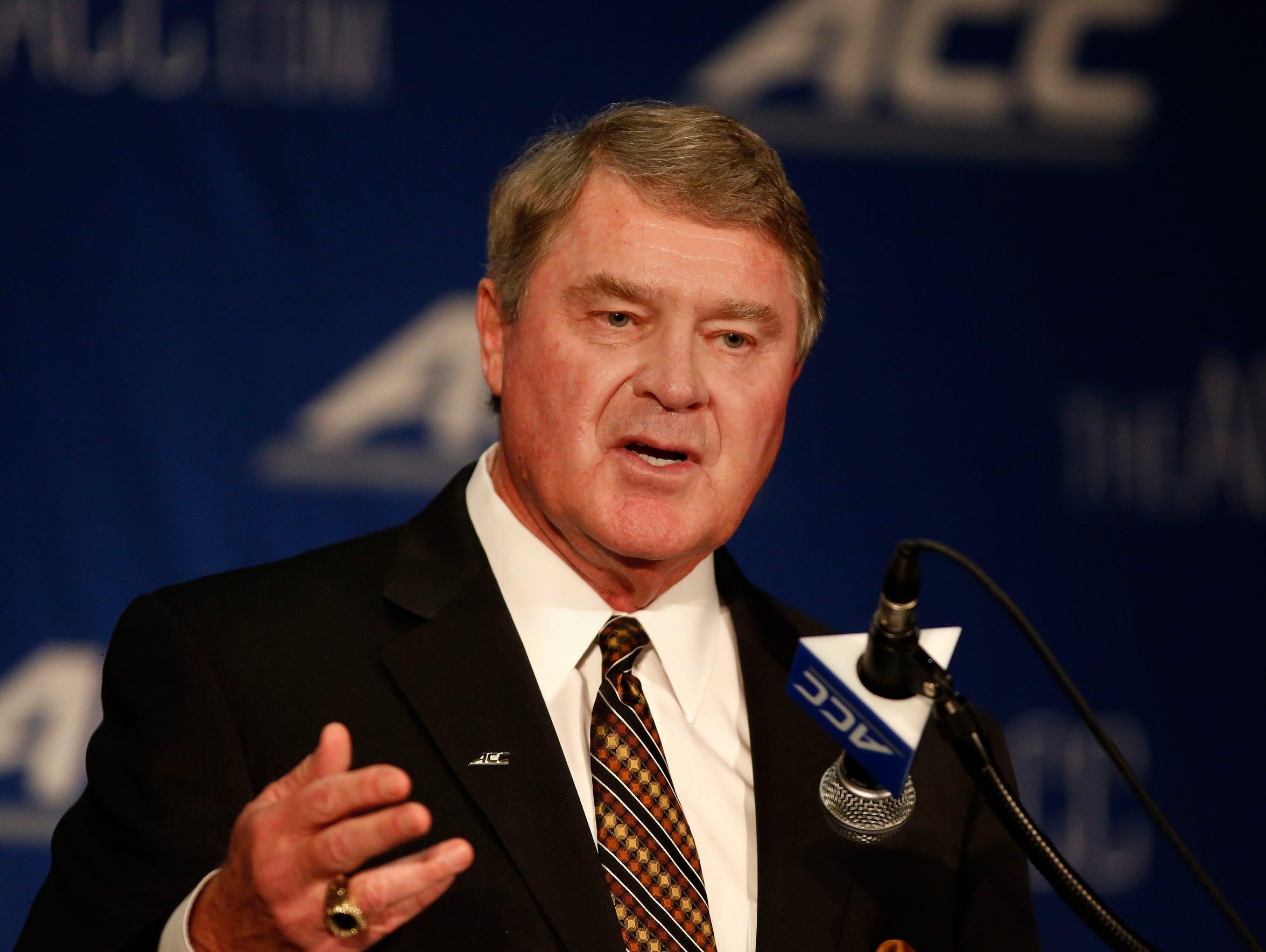 Atlantic Coast Conference commissioner John Swofford