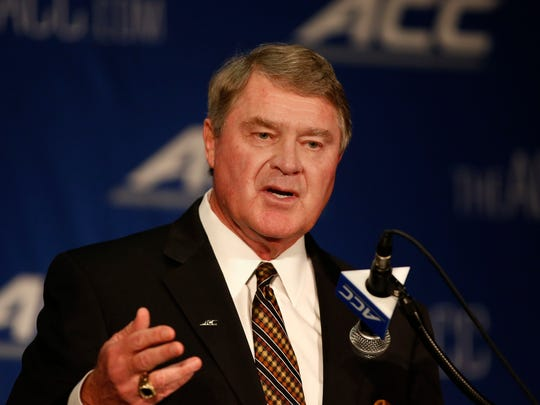 Atlantic Coast Conference commissioner John Swofford will accept the James Naismith Legacy Award on behalf of the league at next week's ACC tournament in Greensboro, N.C.