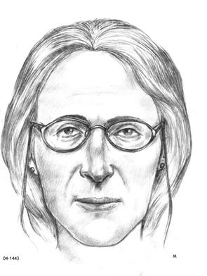 Unidentified woman's remains