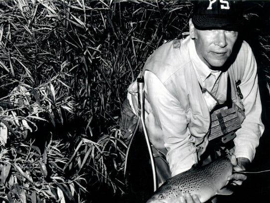 Joe humphreys penn state 39 s fly fishing legend for Fly fishing classes near me