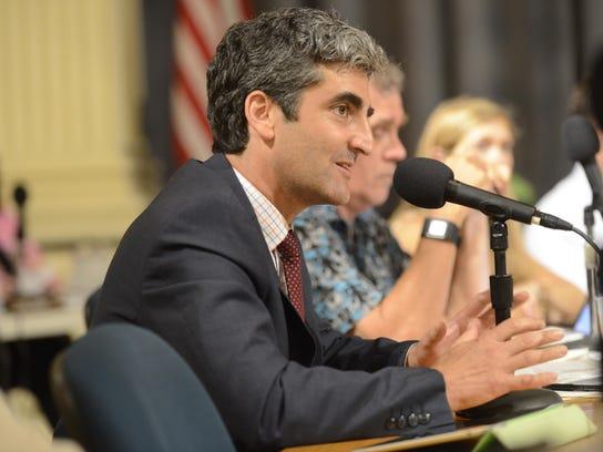 Burlington Mayor Miro Weinberger has appointed 8 men