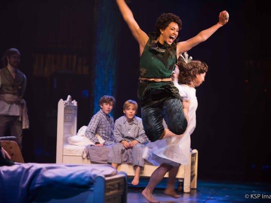 U-M dance grad Dee Tomasetta stars as Peter Pan in
