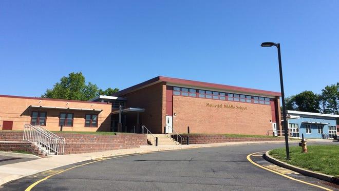 Memorial Middle School in Cedar Grove.