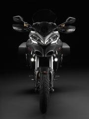 The Multistrada boasts 150 hp.