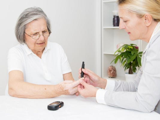 The federal Centers for Disease Control and Prevention says 60 percent of people with Type 2 diabetes can use exercise and a healthy diet to push away from developing Type 1 diabetes, which can cause severe  medical and lifestyle complications, including the need to wear an insulin pump.