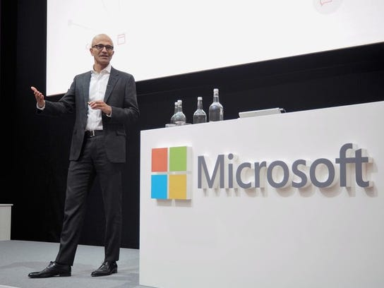 Microsoft CEO Satya Nadella has not yet commented on what it will do with an estimated $130billion in overseas cash.