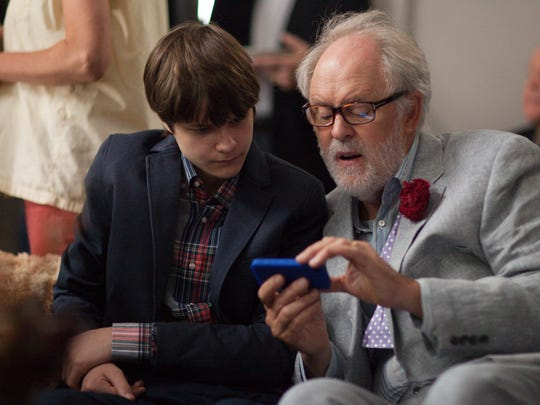 """Charlie Tahan (left) as Joey and John Lithgow as Ben in """"Love is Strange,"""" opening Aug. 22 in select theaters."""