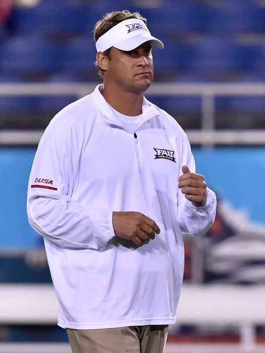 USP NCAA FOOTBALL: FLORIDA INTERNATIONAL AT FLORID S FBC FLO FLO USA FL