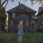 "Maika Monroe stars in ""It Follows,"" written and directed by Florida State film school alum David Robert Mitchell. It opens Friday."