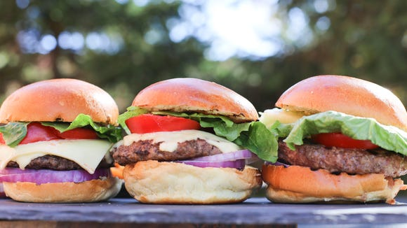 Hit the parking lot of Rastelli Market Fresh for a chance to sample burgers and steaks.