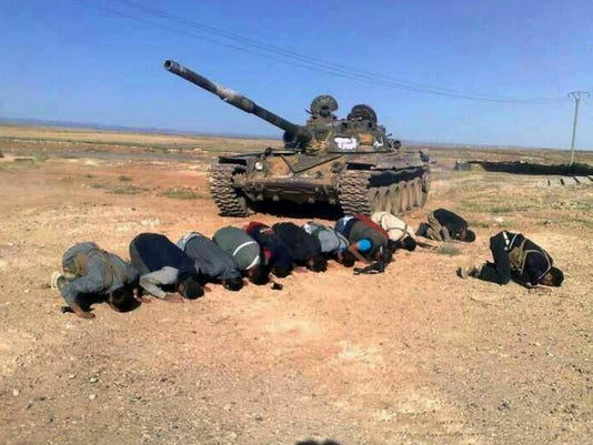 Mideast Syria Southern Front (2)