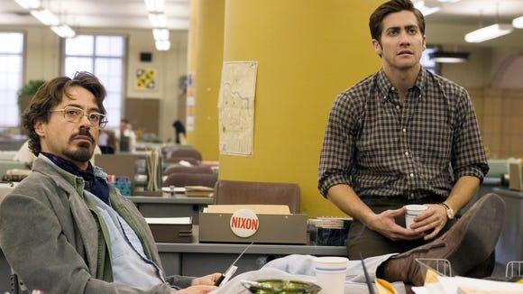 Robert Downey Jr. (left) and Jake Gyllenhaal star as