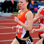 Oregon State's Morgan Anderson is competing in the 1,500 meters at the NCAA Division I Track & Field Championships West Preliminary Meet in Austin, Texas.