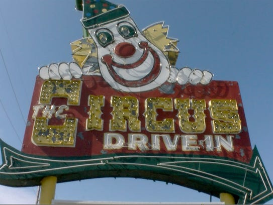 The Circus Drive-In on Route 35 in Wall Township was