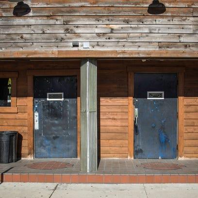 Inside the former Knucklehead's bar downtown