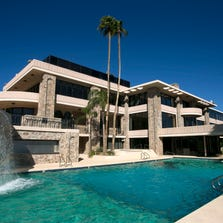 The McCune Mansion in Paradise Valley. The 52,000 square foot home was on the market in 2013 for ten million dollars.