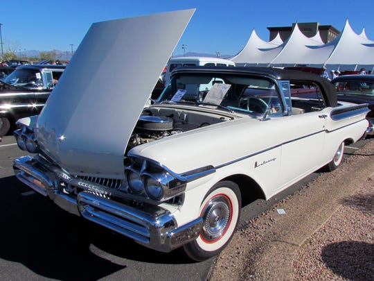 This 1959 Mercury Monterrey was at the 2014 Silver
