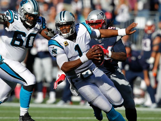 NFL: Carolina Panthers at New England Patriots
