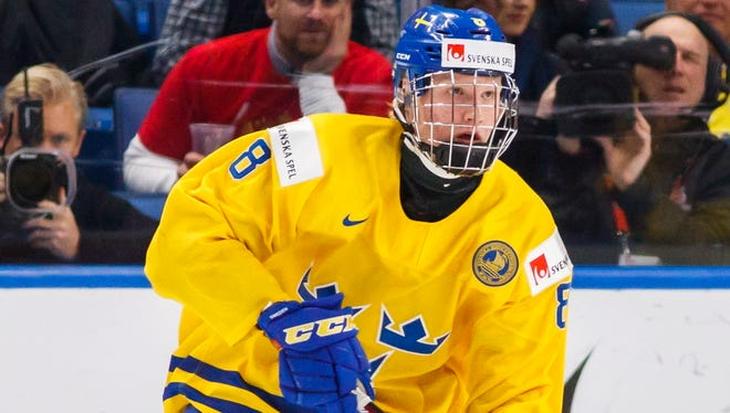 Swedish defenseman Rasmus Dahlin, the projected top pick, is expected to jump in immediately and contribute.