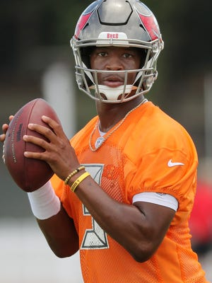 Buccaneers QB Jameis Winston will miss the first three games of the 2018 season.