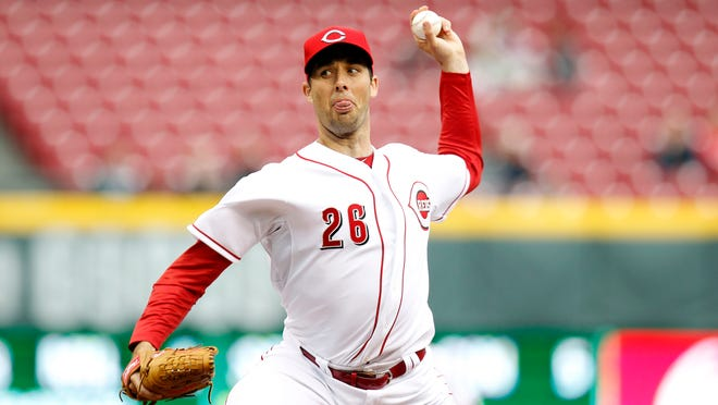 Emergency starter Jeff Francis pitched five innings, allowing three runs on five hits. He struck out four and did not walk a batter. <cutline_credit>The Enquirer/Cara Owsley </cutline_credit>