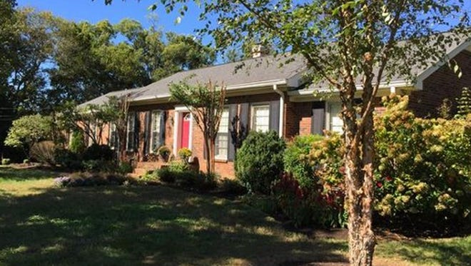 This four-bedroom Brentwood home is on a single level and sits on a cul-de-sac close to Crockett Park.