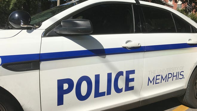 A white University of Memphis police officer filed a federal lawsuit against the school Aug. 15, 2017, accusing it of reverse discrimination.