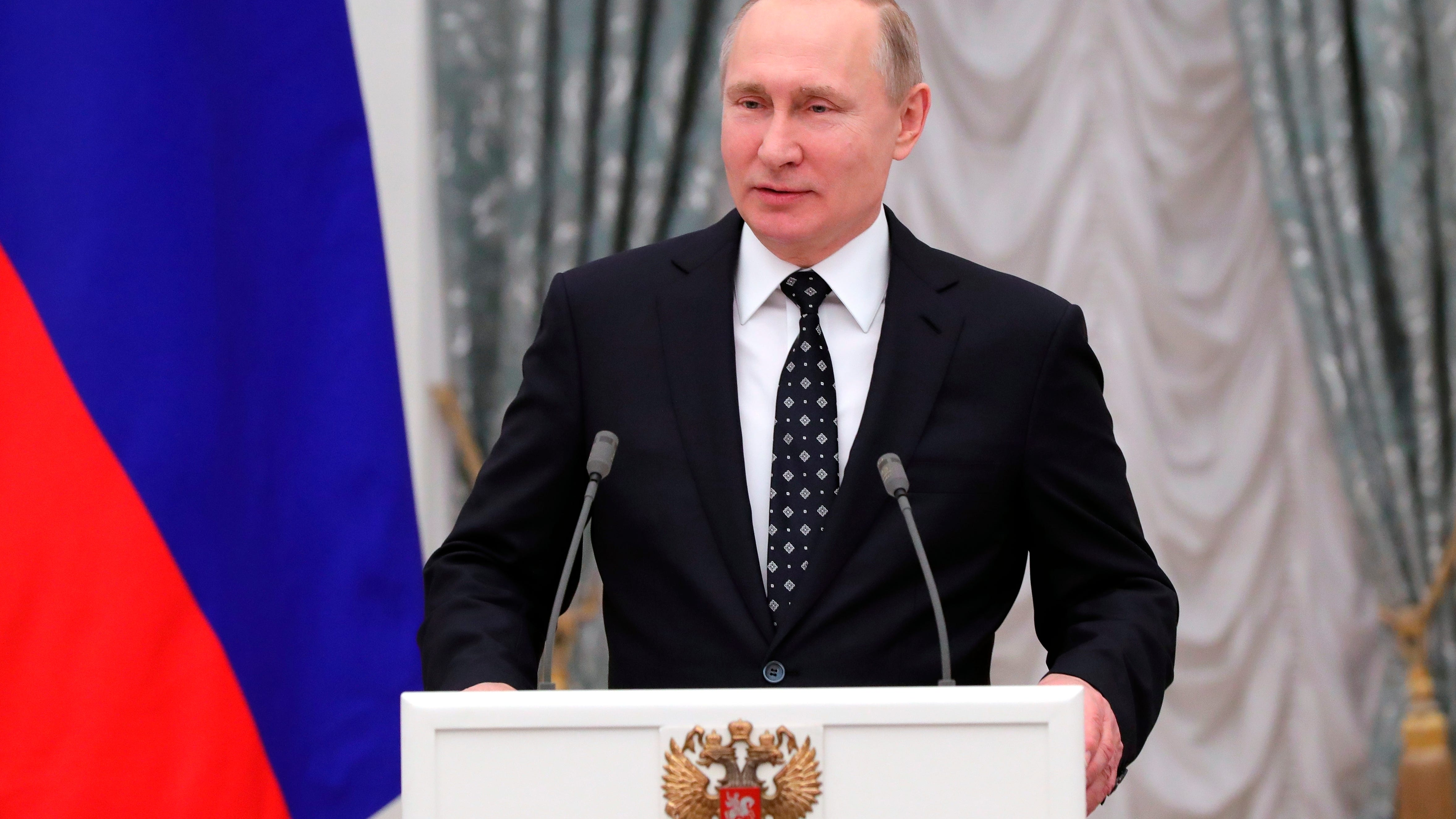 Vladimir Putin Sworn In For A Fourth Term As Russian President