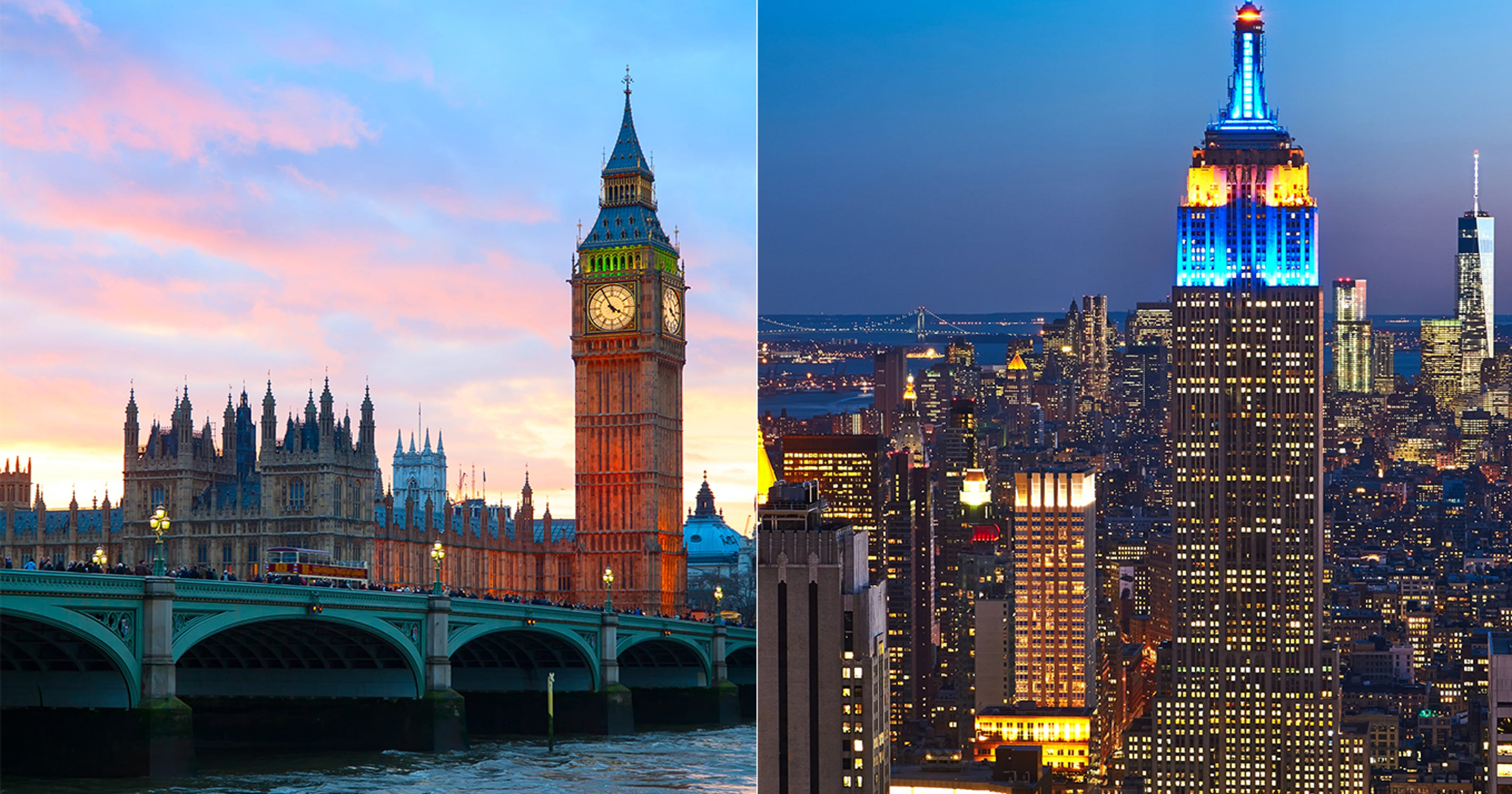 Dating in london vs new york