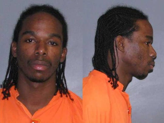Courtney Caldwell, 25, was arrested for possession