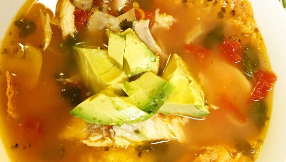 Try this light, spicy soup with plenty of fresh cilantro.