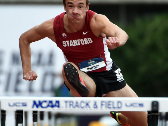 Harrison Williams of Stanford and MUS bounced back from two disappointing seasons to finish third at the recent USATF national decathlon.