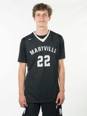 Joe Anderson, Maryville High School Basketball. Monday, March 26, 2018. 2018 News Sentinel Sports Awards