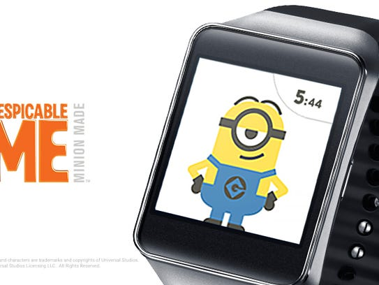 The Minions invade the watch