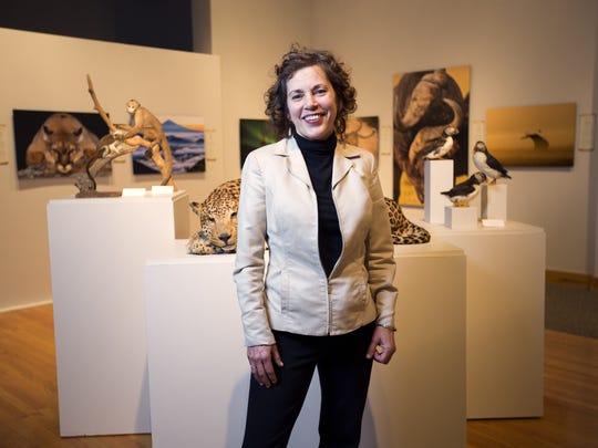Roberson Museum Executive Director Terry McDonald will