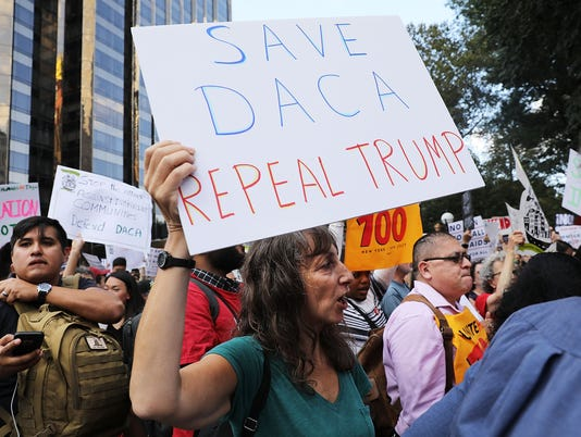 Immigration Activists Rally In Support Of The Deferred Action For Childhood Arrivals Plan