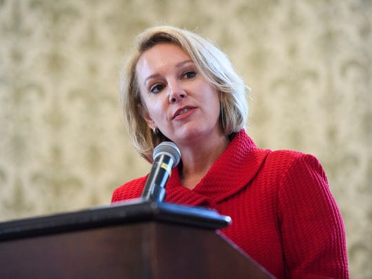 Republican governor's candidate Catherine Templeton