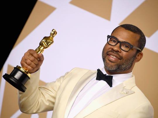 Jordan Peele, winner of the best original screenplay