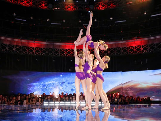 "WORLD OF DANCE -- ""Qualifiers"" --  Pictured: Iowa Girlz -- (Photo by: Trae Patton/NBC)"